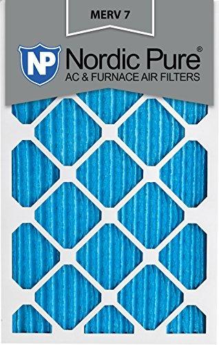 Nordic Pure 18x 25x 1m7-6Merv 7Bundfaltenhose AC Ofen Air Filter, 18x 25x 1, Box Of 6Von Nordic Pure - Merv 7 Ofen-filter