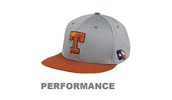 085e25ed1 Nike Texas Longhorns Gray-Burnt Orange Authentic Baseball Mesh ...