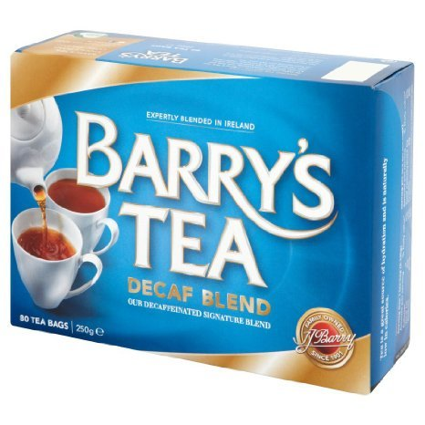 Barrys Decaf Tea 80 Bags (Pack of 2). by Barry's