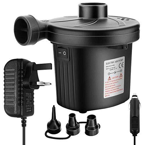DierCosy Elektrische Luftpumpe elektrische Absaugpumpe Luft in & Remove Zwei entsprechende Verschiedene Funktionen Home/Auto verwenden können -