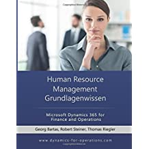 HRM Human Resource Management Grundlagenwissen: Microsoft Dynamics 365 for Finance and Operations