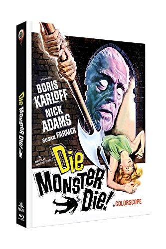 Die, Monster, Die! (Das Grauen auf Schloss Witley) - 2-Disc Limited Collector's Edition Nr.19 (Blu-ray + DVD) - Limitiertes Mediabook auf 222 Stück, Cover C