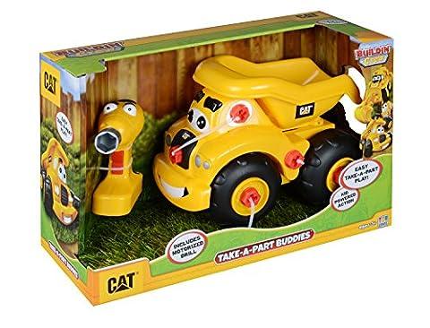 Toy State Caterpillar CAT Buildin' Crew Take-A-Part Buddies Haulin' Harry