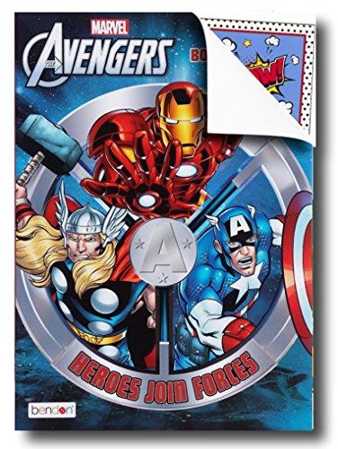 Disney livres de coloriage pour enfants avec stickers-Mickey Mouse, Minnie Mouse, Moana, panthère noire et plus encore. Avengers