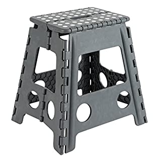 Arregui TB-039-G – Folding Stool 29x22x39cm, Grey.