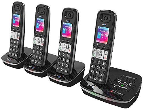 BT (British Telecom) 78629 DECT w/TAM QUAD teléfono 8500 llamada bloque Pro-Series [1] (epítome verificó)
