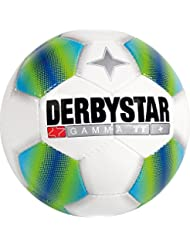 Derbystar Fairtrade Gamma TT Ballon de football Blanc/bleu/vert, 5, 1297500164