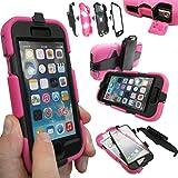 Coque Protection Robuste Usage Survivant Antichoc Robuste pour iPhone 3 3G 3GS - Rose vif, Apple iPhone 6