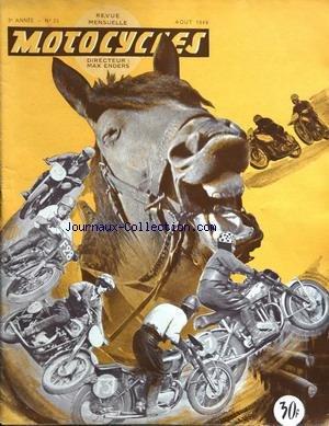 MOTOCYCLES [No 25] du 01/08/1949 - le culbuteur hydraulique harley-davidson
