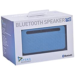 Syska Kts-38 Bluetooth Speaker (Blue)