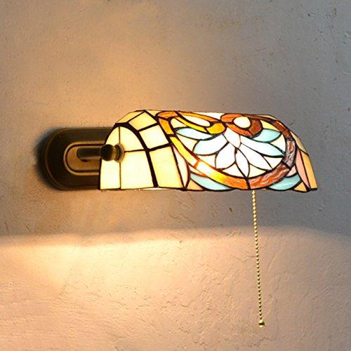 Continental Rokoko Tiffany Korridor Wandleuchte Eisen Lampenschirm Flur Wandleuchte Creative...