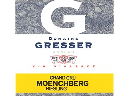 Riesling Moenchberg Grand Cru - Domaine Remy Gresser (case Of 6). Alsace/ Francia. Riesling. Vino Blanco