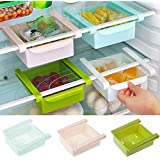 Lucky Box Multi-Purpose Storage Rack Creative Kitchen Box Freezer Storage Rack Shelf Pack of 1(Color May Vary)