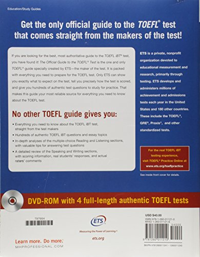 Zoom IMG-1 the official guide to toefl