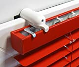 ps QUICKFIX-Klemmträger für Jalousien inkl. Dichtungspad (2 Stück) – Montage ohne Hohlräume in den Gummidichtungen Ihres PVC-/Kunststofffensters
