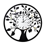 CZM ZHB wanduhr Eisen Runde Wanduhr Mode Große Wohnzimmer Wanduhr Dekoration Kreative Uhr Mute Quarzuhr 60 * 60 cm