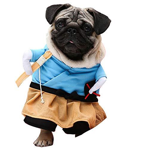 Urijk Hund Kleidung Haustier Welpe Winter Warme Aufrechte -