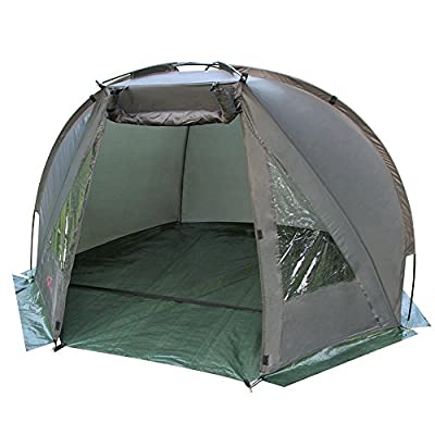 Magic3org Carp Fishing Bivvy Day Shelter Tent Quick Erect Outdoor Coarse Tackle 1-2 man from Magic3org