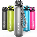 Proworks Leak-Proof Water Bottle | Fast Flow Swing Top Sports Flask ideal