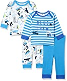 #2: Mothercare Baby Boys' Regular Fit Pyjama Top (PD217-1_Multicoloured_6-9 M)