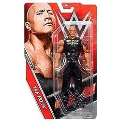 WWE Serie Basic 48.5 Action Figure - The Rock 'Squadra Portare it' maglietta