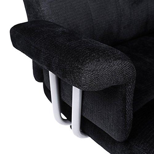 songmics fauteuil de bureau chaise pour ordinateur r glable obg41b int rieur maison. Black Bedroom Furniture Sets. Home Design Ideas