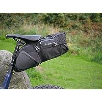 Adventurefuel bikepacking saddle bag Seat Pack - 10L / 10 Litre Bike Packing Bikepacker Bikepack Touring Tour Adventure Bicycle Cycling Cycle Biking Back Rear Loader Ortleib Revelate Altura Alpkit
