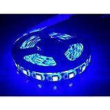 iNextStation� 120LED SMD 5050 LED Waterproof Strip String Light 5V Battery Box Lamp (1.0M, Blue)