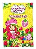 Strawberry Shortcake Colouring Book Childrens Xmas Christmas Party Bag Filler