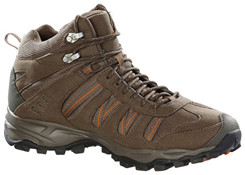 The North Face Herren Wanderschuhe braun/orange