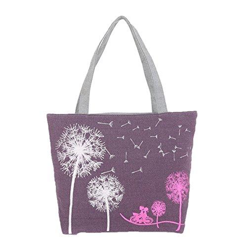 Miyaia Pu Gongying / Marienkäfer Muster Damen elegant Shopper-Tasche Handtaschen Tasche Schulterbeutel B