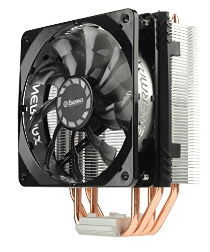 Enermax ETS-T40F-TB Processore Refrigeratore Ventola per PC-Ventole, refoidisseurs e radiatori (Processore, Refrigeratore, 12cm, presa elettrica, socket FM2, Socket AM3+, Socket FM2+, LGA 2011-v3(Socket R), Presa AM2, Presa AM2+, Sock, 800giri/min, 1800rpm)