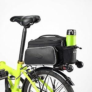 51Nmfeu 1yL. SS300 VertAst Borsa da sella multifunzionale per ciclismo, bicicletta, bicicletta (viaggio spalla telaio esterno) 10L CS79 10L…