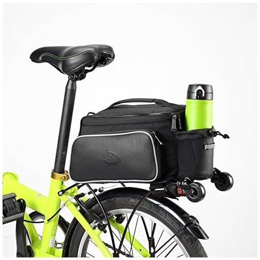 Roswheel Bici Borsa posteriore per Mountain Bike bicicletta Ciclismo MTB CS079