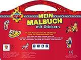 Feuerwehrmann Sam Mein Malbuch mit Stickern...Vergleich