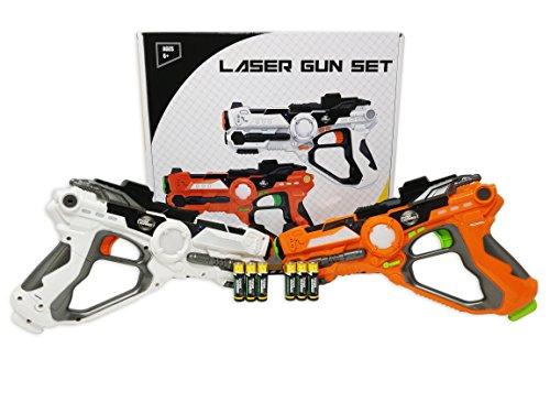 Conjunto de pistolas láser para niños y adultos TG666