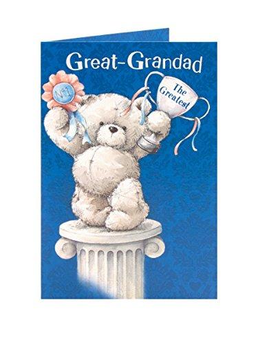 Edward Thema Vater 's Day Karte Grandad The Greatest - Edward Gibson