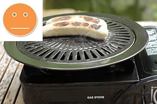 Grillplatte Für Gasgrill : Grillrost für camping gaskocher mit grillplatte zubehör für