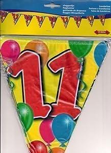 Folat Guirnalda de banderines para Fiesta de cumpleaños, 10 m, decoración