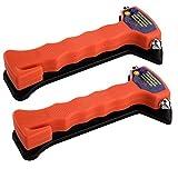 SIDCO ® 2 Notfallhammer Nothammer Gurtschneider Gurtmesser Hammer Rettungshammer
