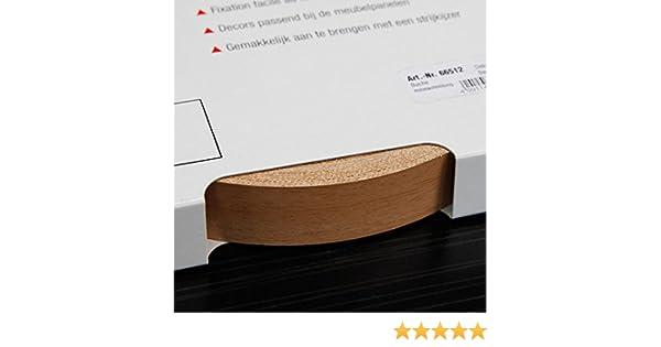 25 m x 20 mm Kantenumleimer f/ür M/öbelbauplatten und Regalbretter Buche mit Pore