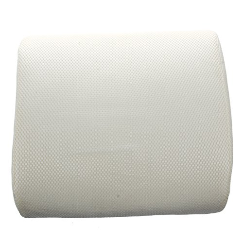 Preisvergleich Produktbild Kissen - SODIAL(R)Auto Office Home Memory Foam-Sitzstuhl lumbalen Rueckenstuetzkissen Kissen New Beige