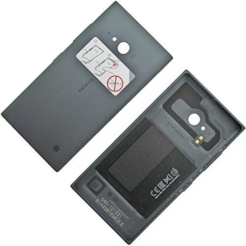 Nokia Lumia 730 Original Akkudeckel NFC Antenne Dunkel Grau Batterie-Deckel Back-Cover Akkufachdeckel Klappe