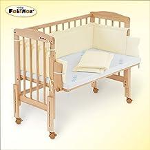 FabiMax Beistellbett PRO mit Matratze und Nestchen