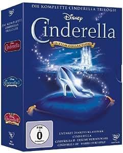 Cinderella - Die komplette Cinderella Trilogie [3 DVDs]