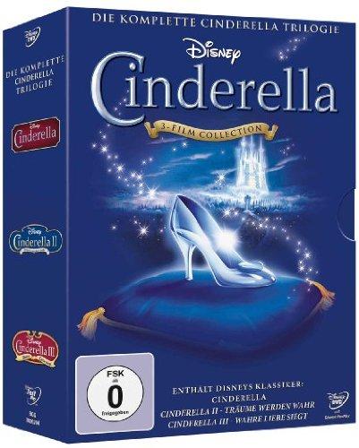 Cinderella - Die komplette Cinderella Trilogie [3 DVDs] (Disney Cinderella Filme)