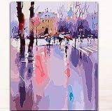 Lishihaozy Pintura Por Números Pinturas Para Colorear De Bricolaje Por Números Cuadros...