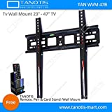 Tanotis Imported Fixed TV Wall mount for...