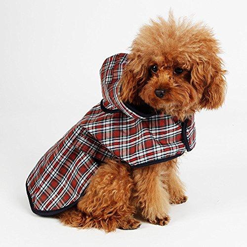 MTX-Kostüme Mayo Tong Tian Xia Compras de Mascotas de Abrigo de Lluvia Impermeable Perros Ropa Al Aire Libre una Amplia Variedad de Estilos M:Back 31cm Chest 36cm
