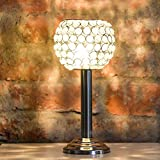 #5: Collectible India Silver Crystal Beaded Crystal Tealight Holder Stand | Decorative Candle Holders For Birthday Wedding Anniversary Party & Special Occasion Decoration |